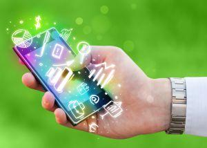 Compras via smartphone
